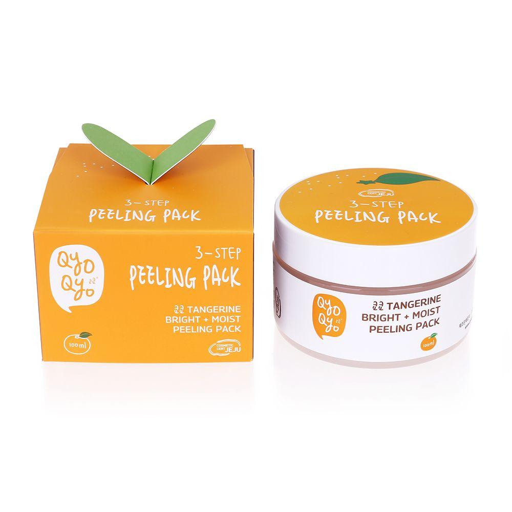 Tangerine Bright + Moist Peeling Pack