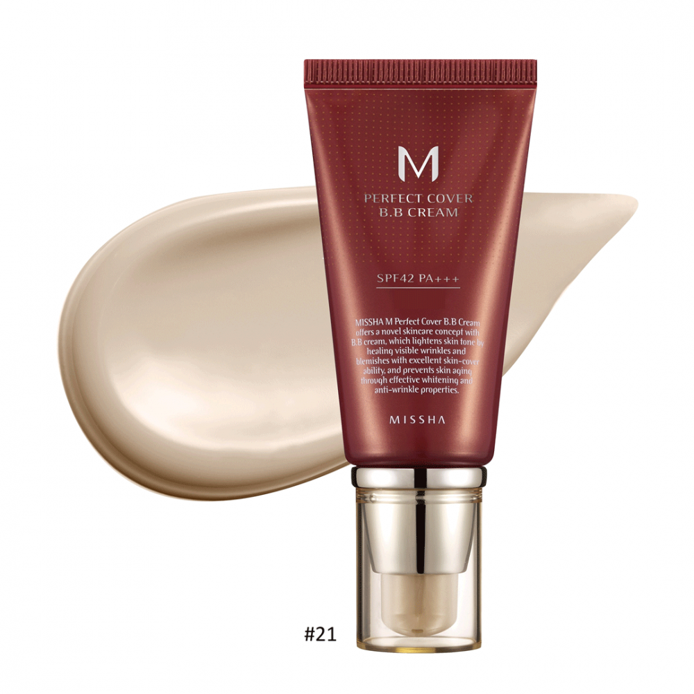 M Perfect Cover BB Cream #21 Light Beige