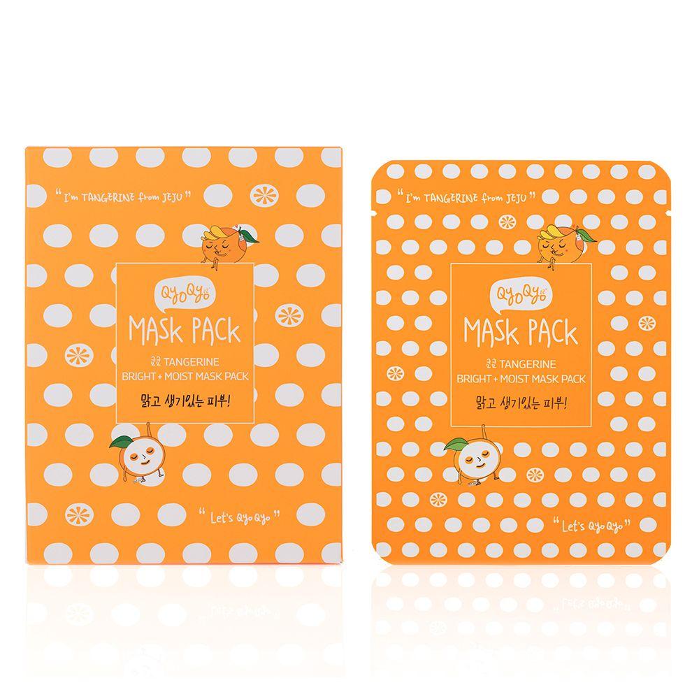 Tangerine Bright + Moist Mask Pack [10 Stück]