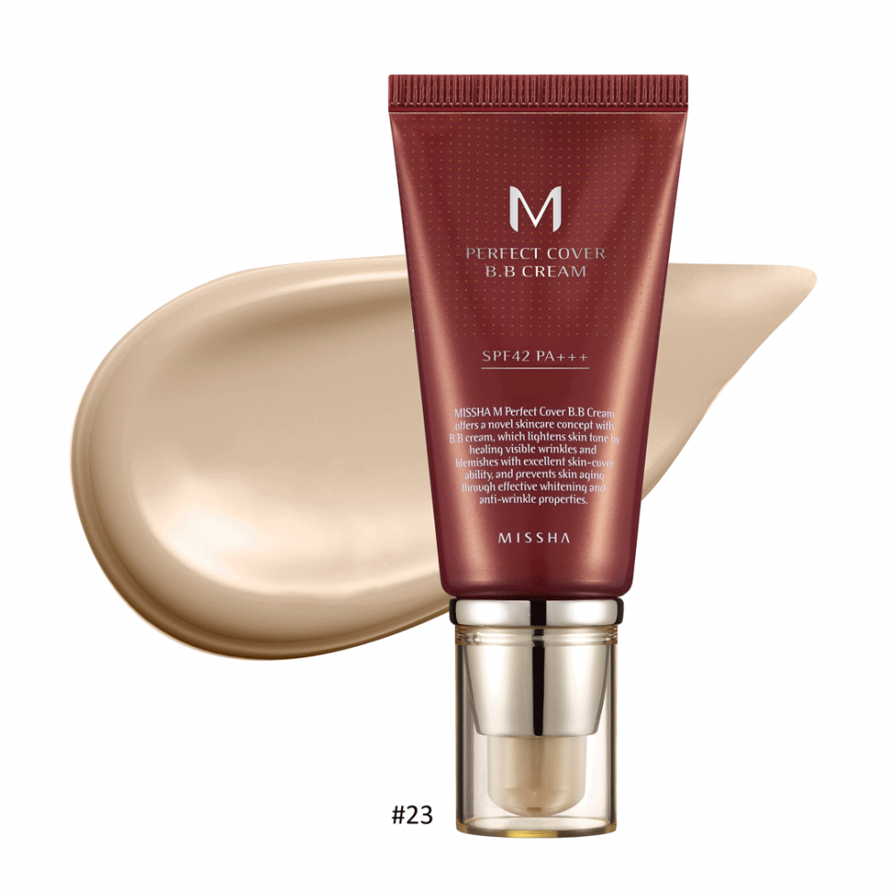 M Perfect Cover BB Cream #23 Natural Beige