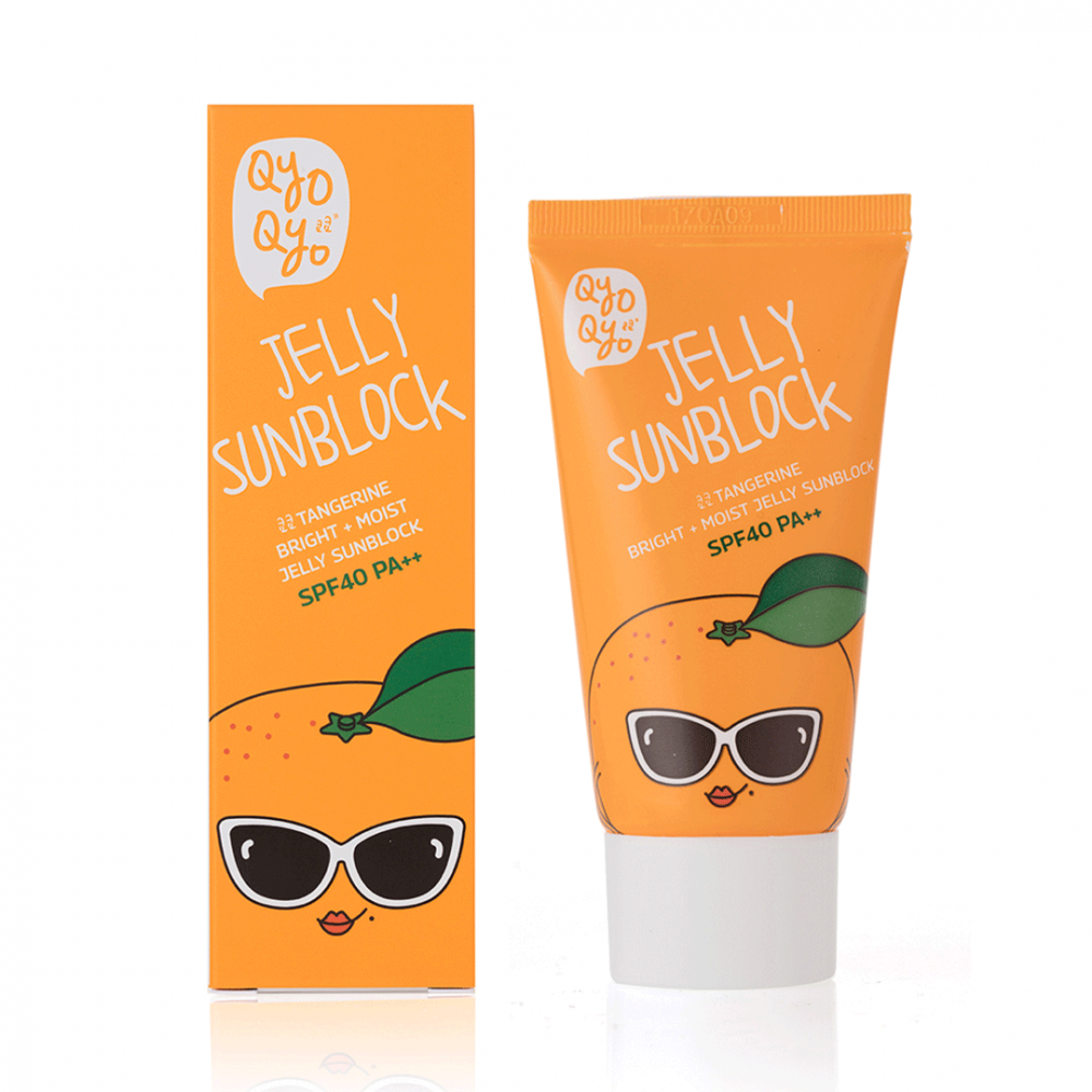 Tangerine Bright + Moist Jelly Sunblock
