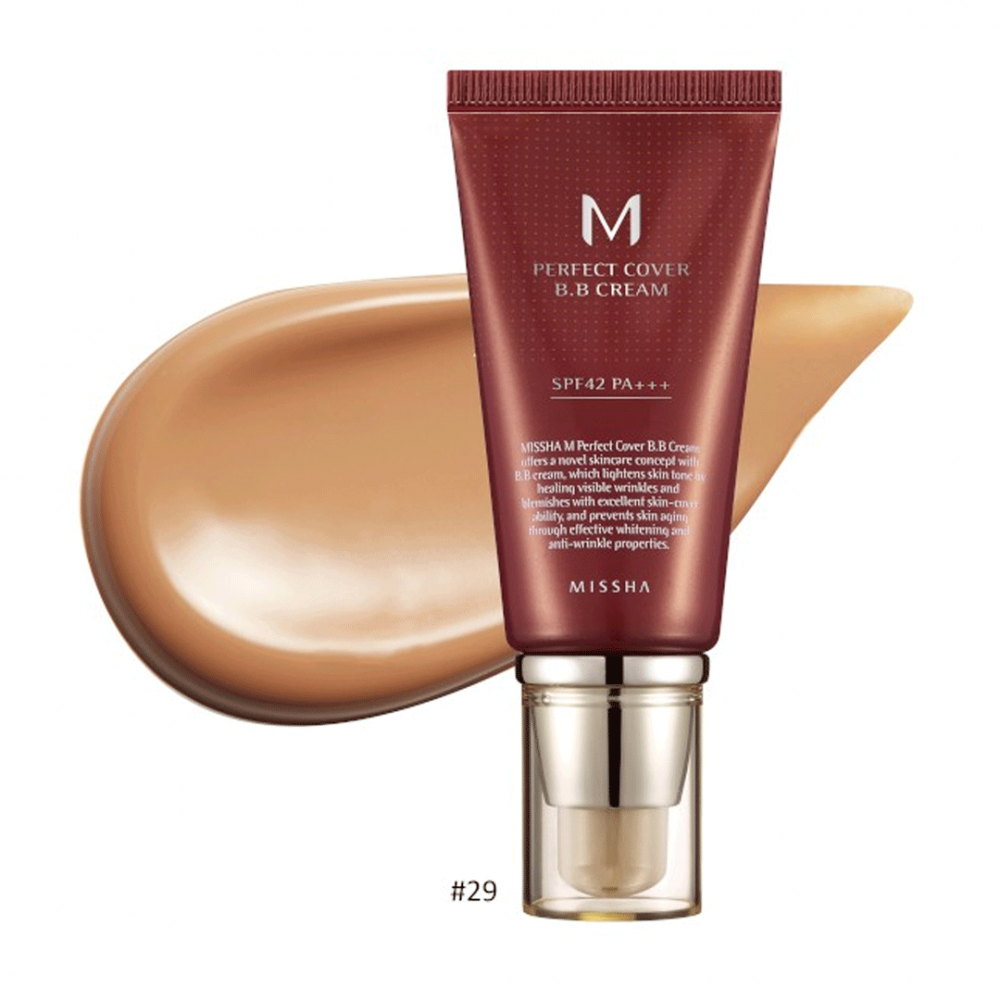 M Perfect Cover BB Cream #29 Caramel Beige