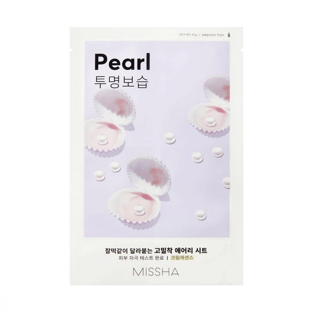 Airy Fit Sheet Mask - Pearl
