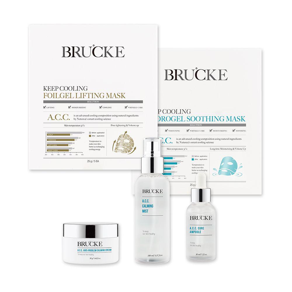 BRUCKE Premium-Pflegeset 5-teilig