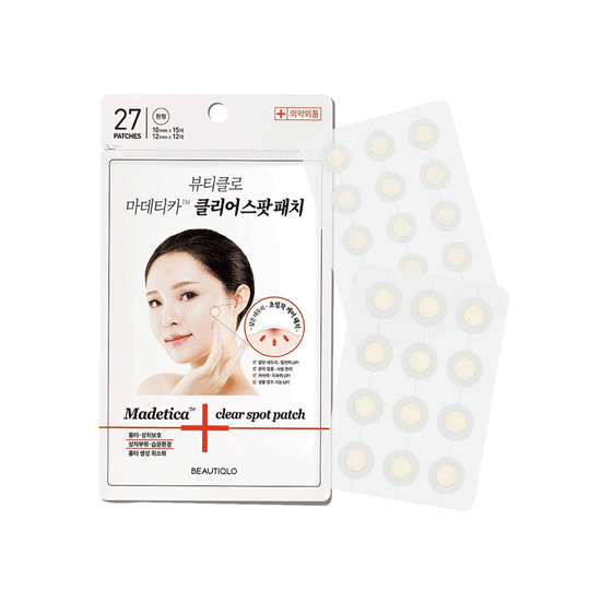 Madetica Clear Spot Patch
