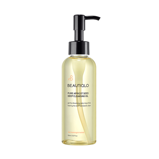 BEAUTIQLO | Pure Apricot Seed Deep Cleansing Oil