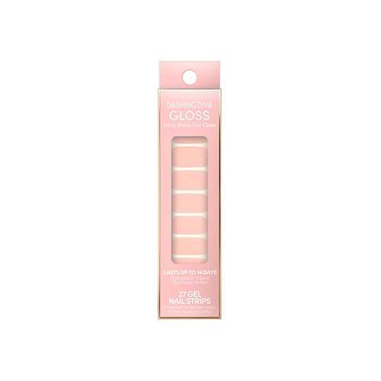 DASHING DIVA   GLOSS MY COLOR - Cotton Candy