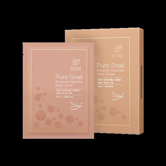 Dr. Deep | Pure Snail Essence Mask Sheet (Set)