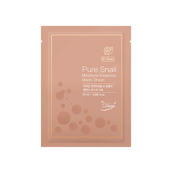 Dr. Deep | Pure Snail Essence Mask Sheet