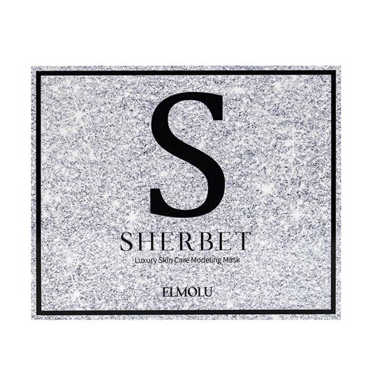 Elmolu   SHERBET Silver Modeling Mask Set