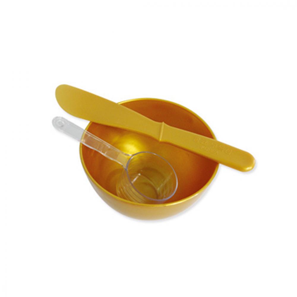 Gold Bowl & Spatula Set