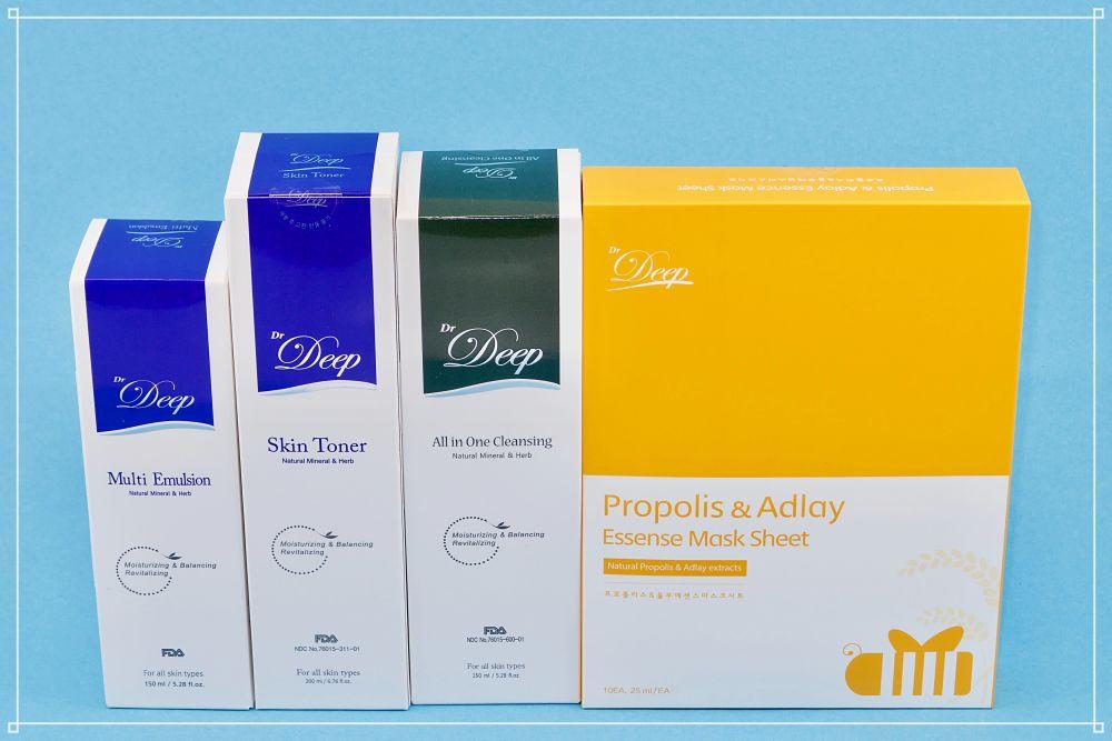 4-Schritte Pflegeset mit Propolis