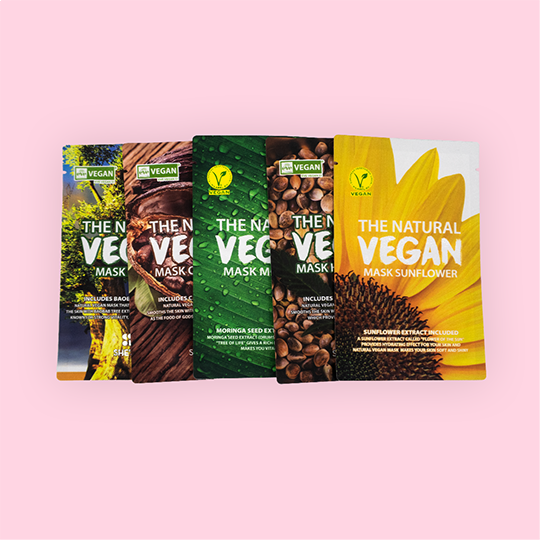 SHE'S LAB | Natural Vegan Sheetmask Set