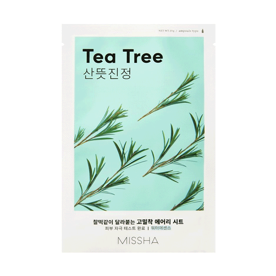 MISSHA   Airy Fit Sheet Mask - Tea Tree