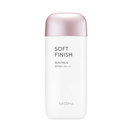 MISSHA | All Around Safe Block Soft Finish Sun Milk SPF 50