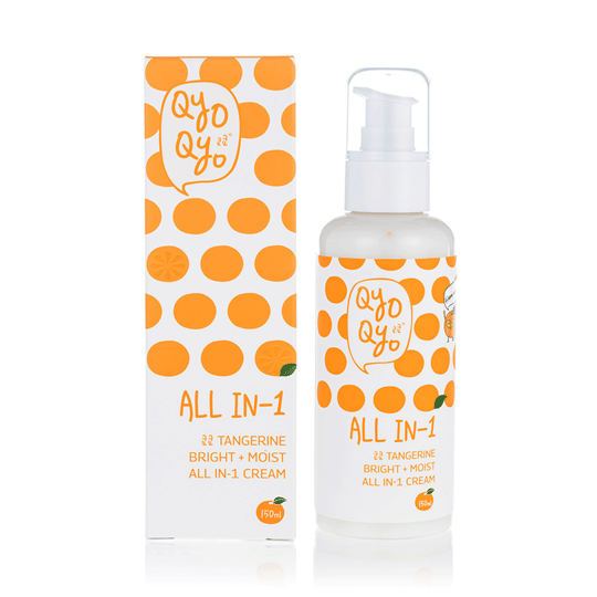 Qyo Qyo | Tangerine Bright + Moist All-in-One Cream