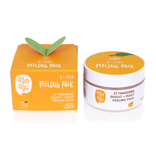 Qyo Qyo | Tangerine Bright + Moist Peeling Pack