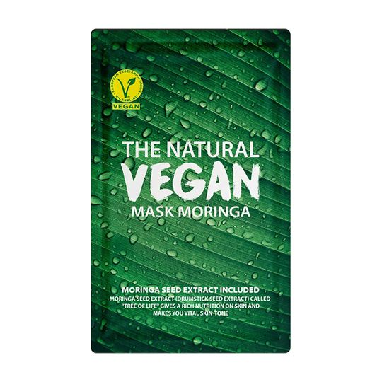 SHE'S LAB | The Natural Vegan Mask Moringa