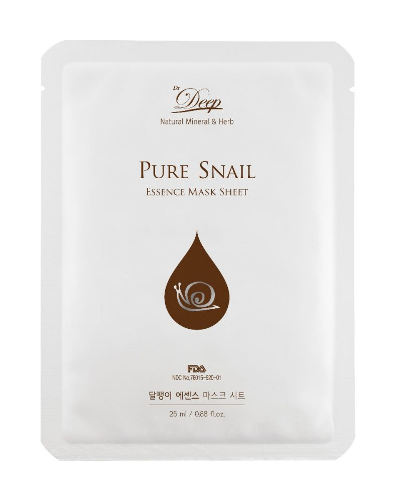 Pure Snail Essence Mask Sheet