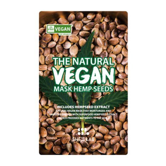 SHE'S LAB | The Natural Vegan Mask Hemp Seeds