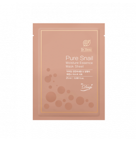 Dr. Deep | Pure Snail Essence Mask Sheet