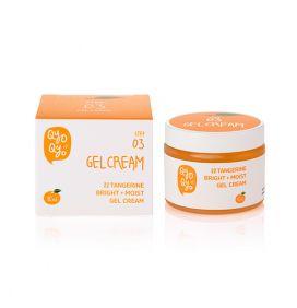 Qyo Qyo | Tangerine Bright + Moist Gel Cream