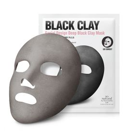Black Clay Corset Mask