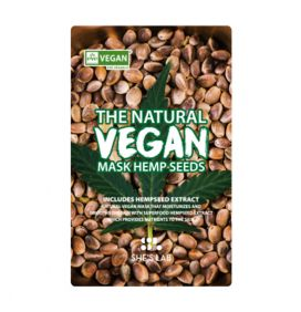 SHE'S LAB | The Natural Vegan Mask Hemp Seeds