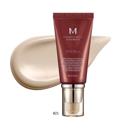 M Perfect Cover BB Cream #21 Light Beige