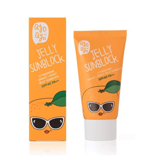 Tangerine Bright + Moist Jelly Sunblock
