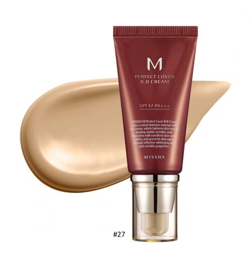 M Perfect Cover BB Cream #27 Honey Beige