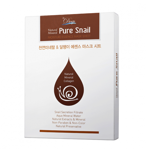 Pure Snail Essence Mask Sheet [10 Stück]