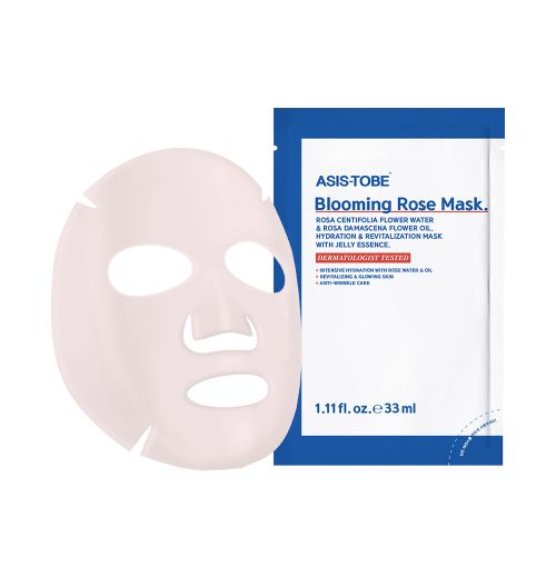Blooming Rose Mask
