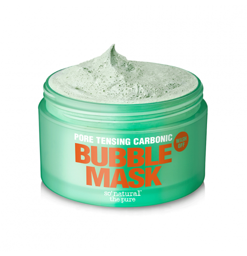 Pore Tensing Carbonic Bubble Mask