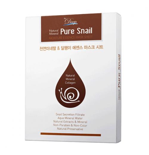 Pure Snail Essence Mask Sheet [10 Stück]