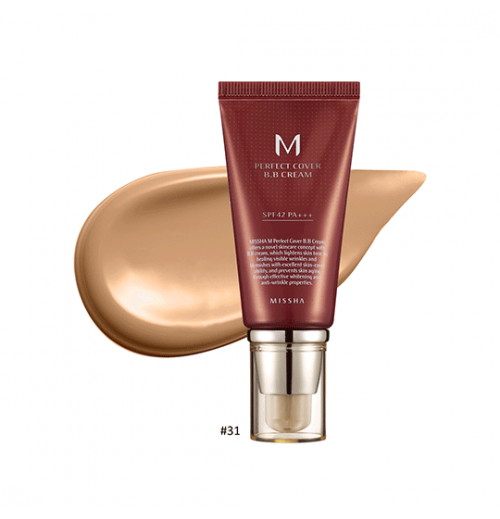 M Perfect Cover BB Cream #31 Golden Beige