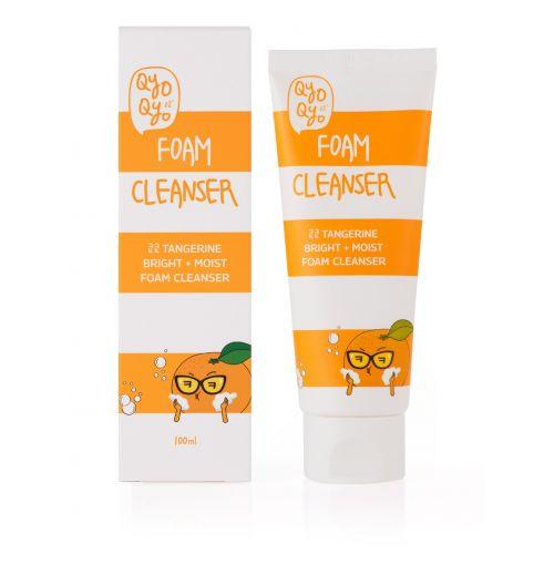 Tangerine Bright + Moist Foam Cleanser