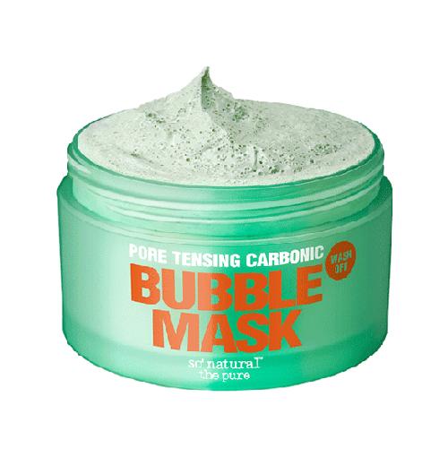 Pore Tensing Carbonic Bubble Mask